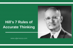 Hill's 7 Rules of Accurate Thinking