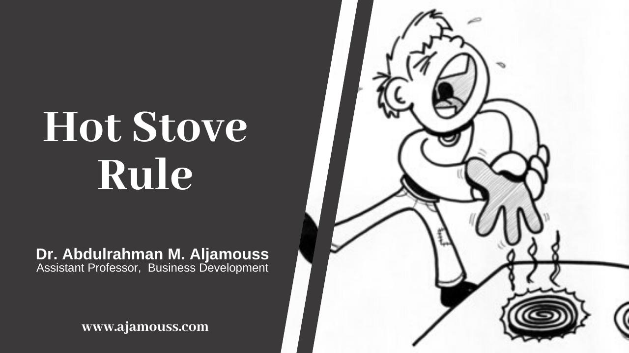 Hot Stove Rule: Employee Discipline