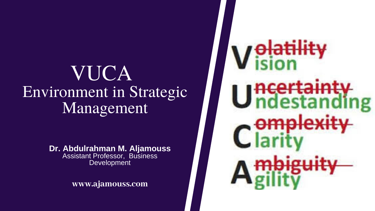 Welcome to the VUCA world