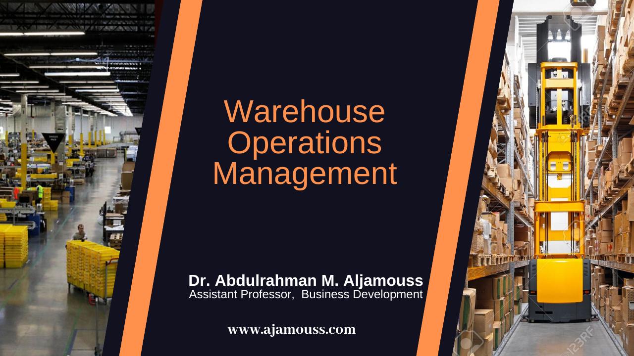 Warehouse Operations Management